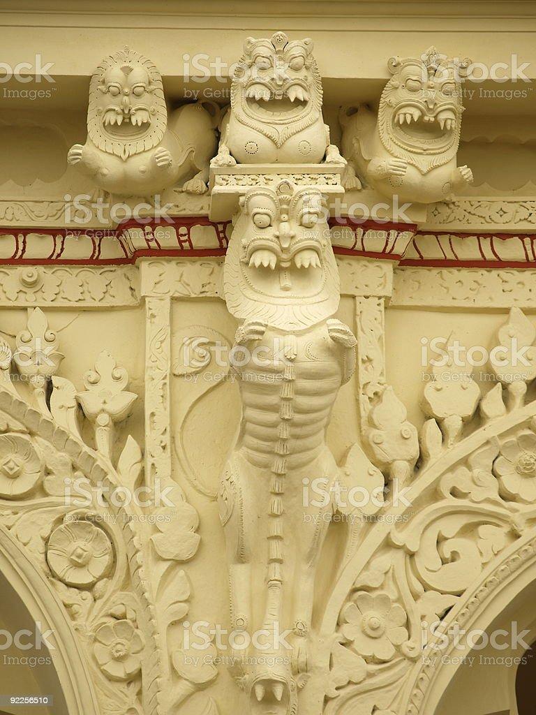 Thirumalai Nayaka Palace,Madurai,India. royalty-free stock photo