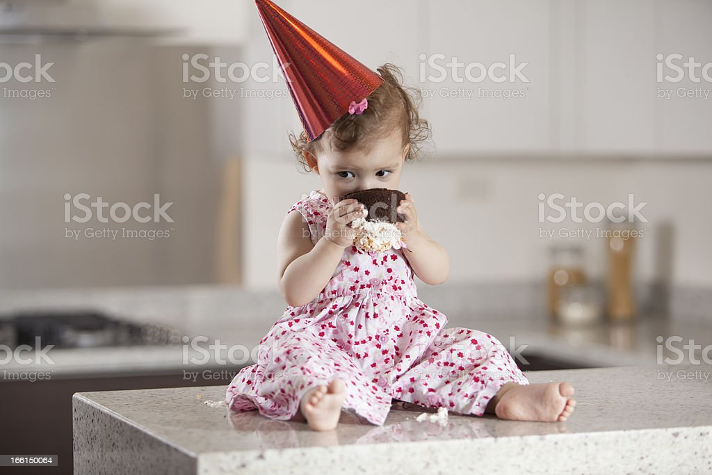 This cake is all mine royalty-free stock photo