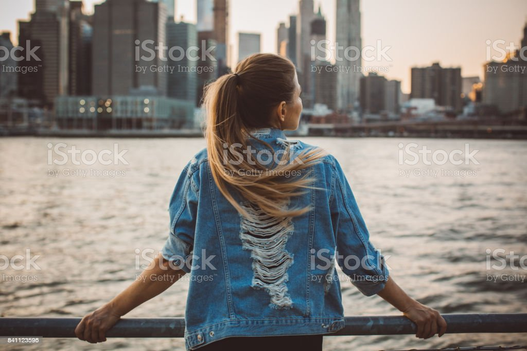 This city is breathtaking stock photo