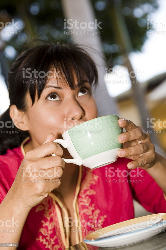 This Coffee Is Great! royalty-free stock photo