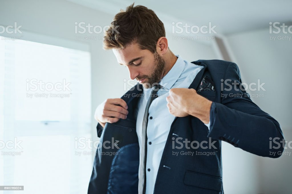 This completes the look stock photo
