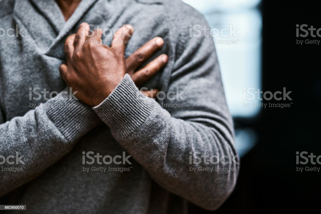 This could be a heart attack stock photo