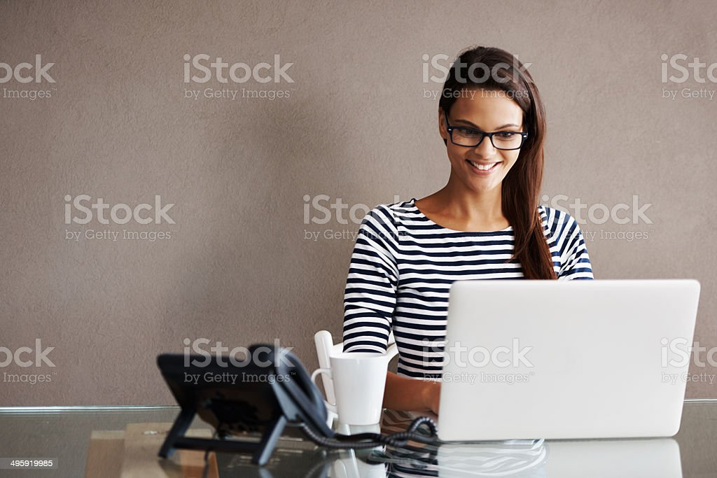 This day just keeps getting better stock photo