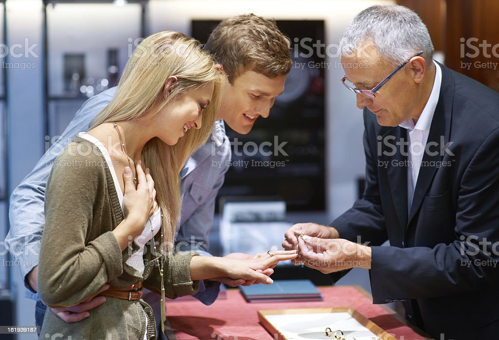 This decision will last a lifetime stock photo