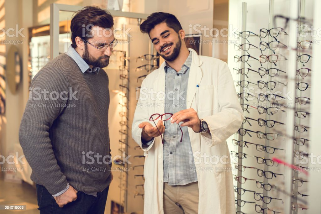 This eyeglasses are the best for you! stock photo