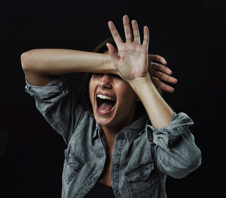 487960859 istock photo This feels like her own horror movie! 487960843