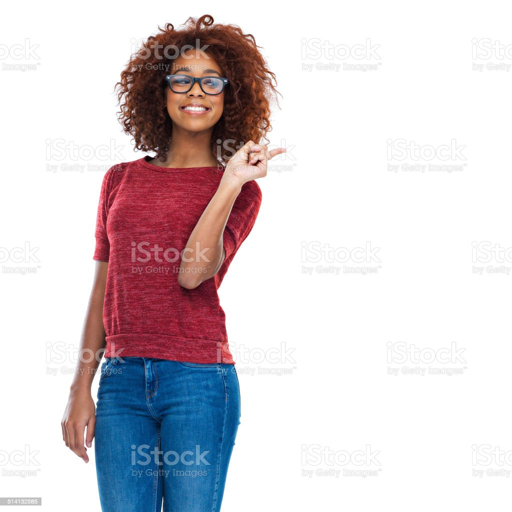 This girl knows how to have fun stock photo