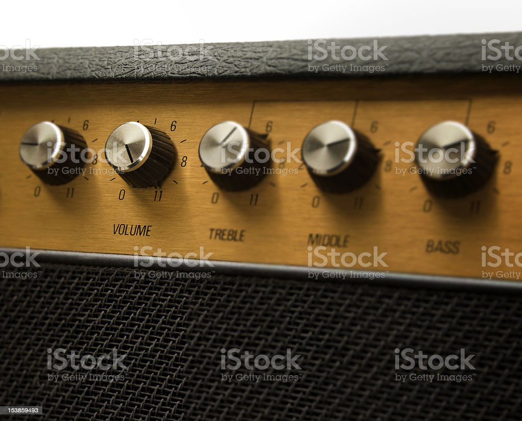 This goes to eleven royalty-free stock photo