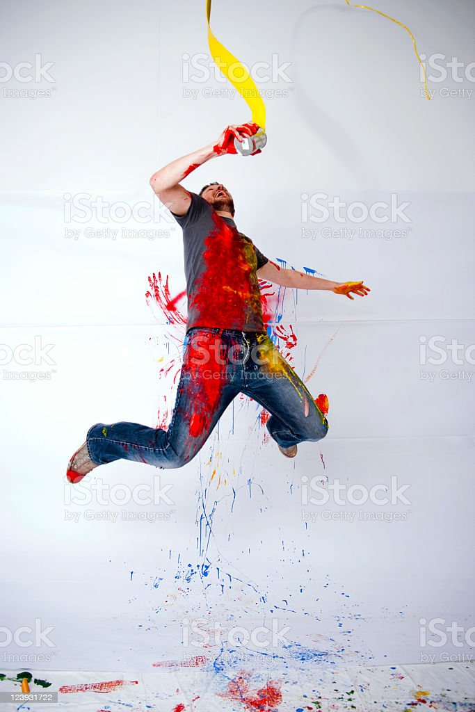 This guy might be on drugs don't be this guy stock photo
