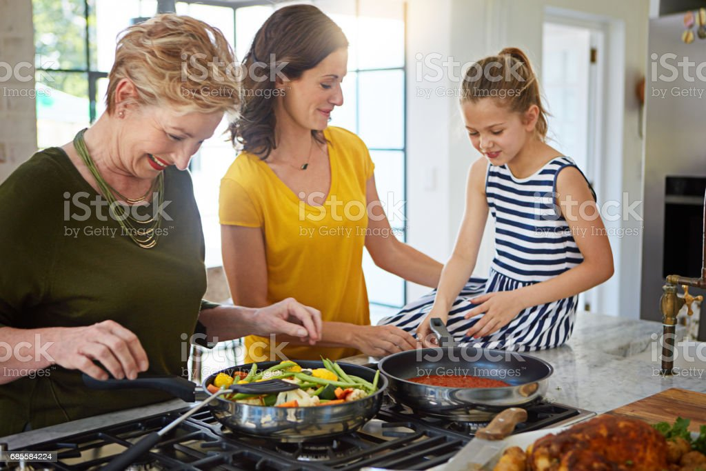 This is a family recipe no one can resist stock photo