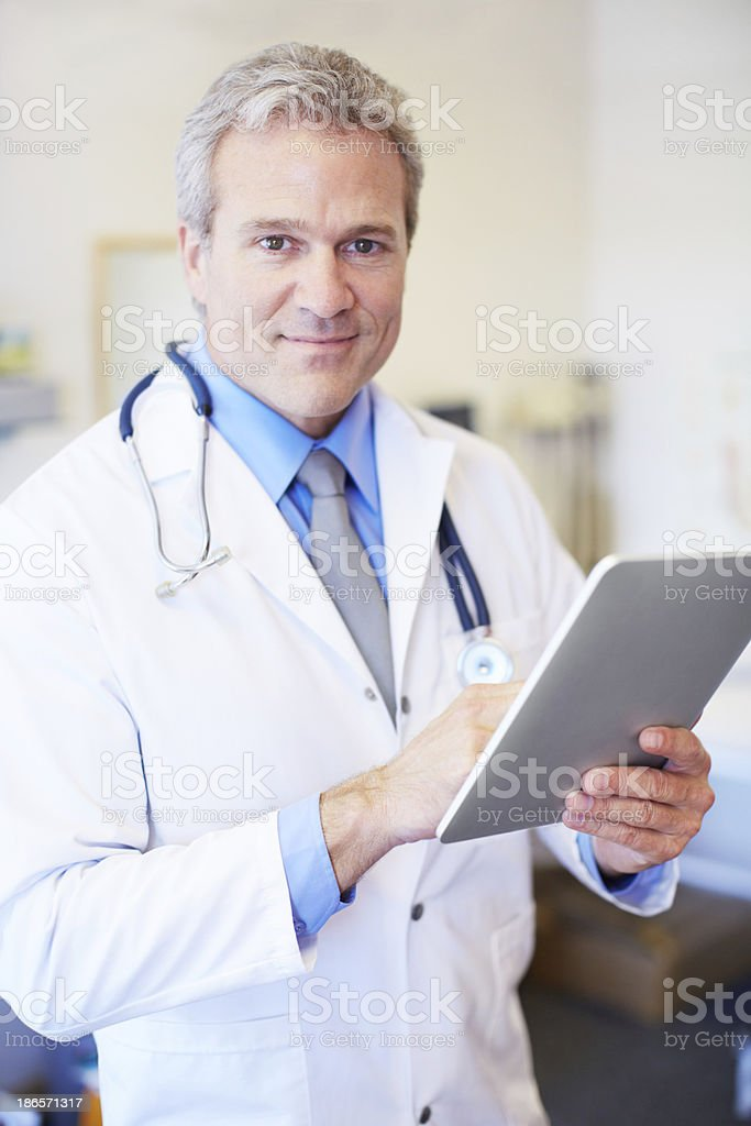This is a handy tool for diagnosis royalty-free stock photo