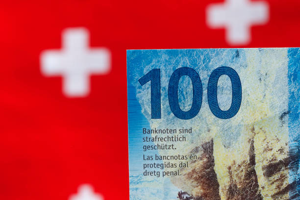 This is a hundred Swiss francs note
