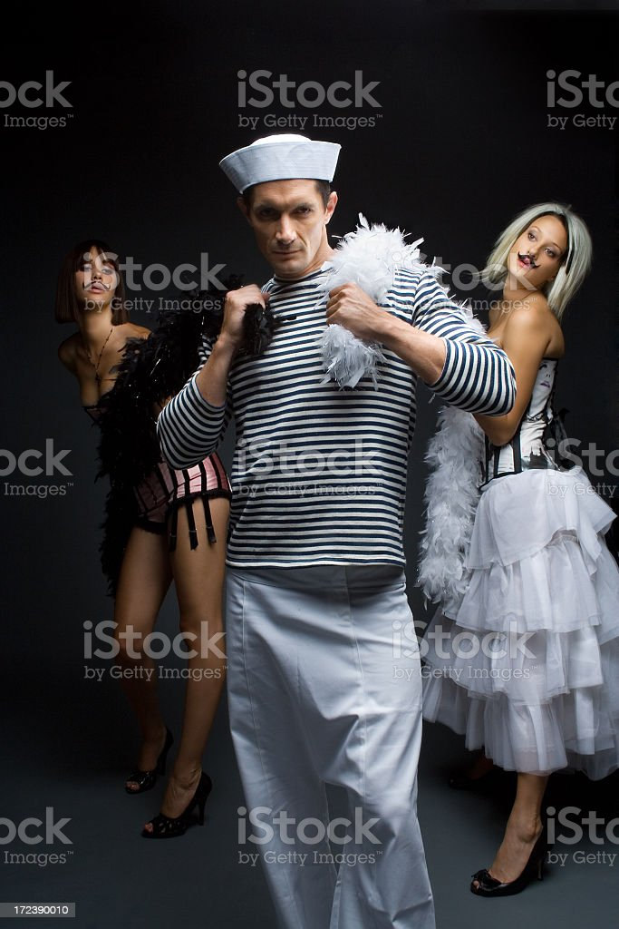 This is a man's world royalty-free stock photo