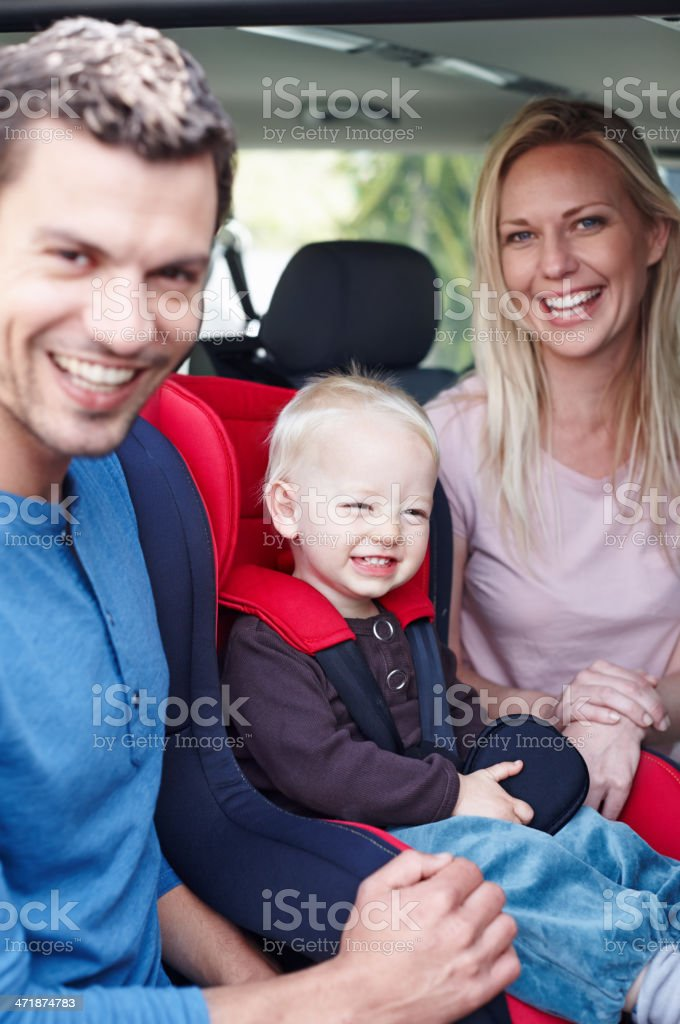 This is a picture for the family album! royalty-free stock photo