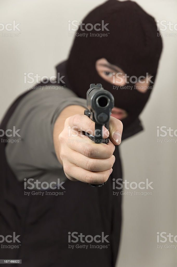 this is a stick up (upright) royalty-free stock photo