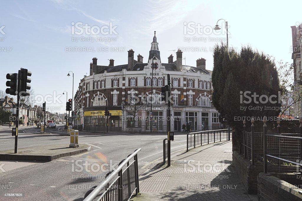 Amen Corner in Tooting London SW17 stock photo