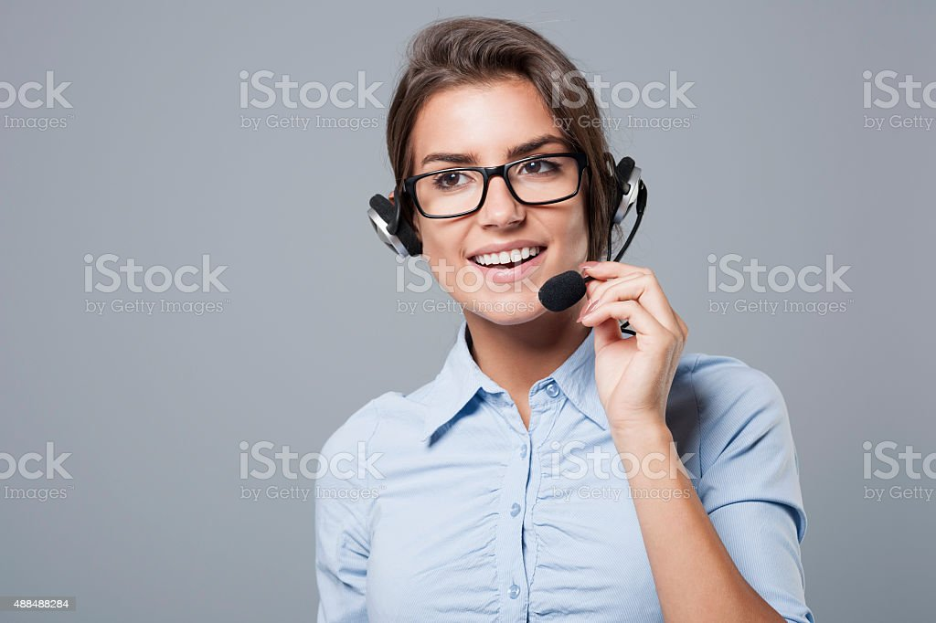 This is call center, how can I help you?
