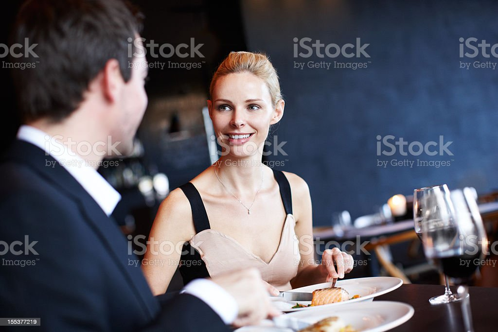 This is delicious! stock photo