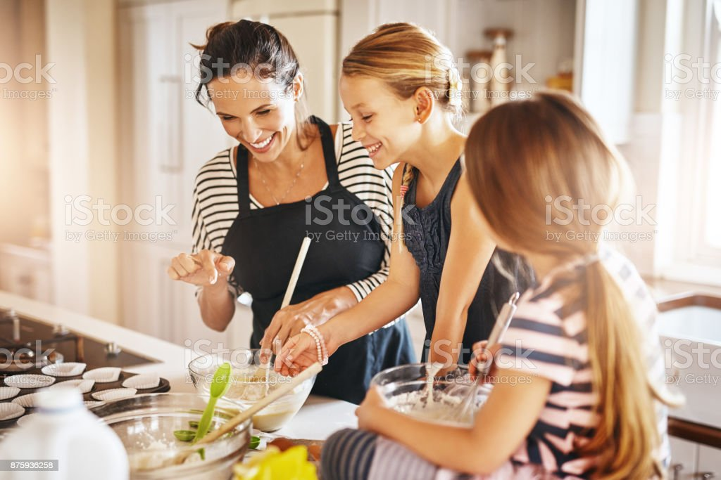 This is going to be so sweet and yummy! stock photo