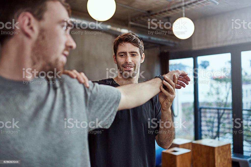 This is healing nicely - Lizenzfrei Aktivitäten und Sport Stock-Foto