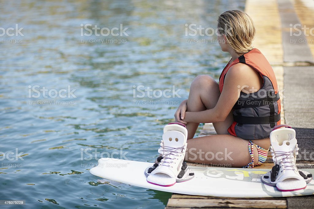 This is how I unwind... royalty-free stock photo