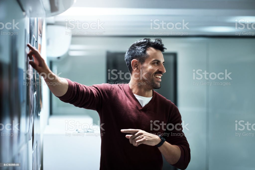 This is how we're going to do it stock photo