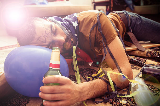 this is how you party! - drunk stock photos and pictures