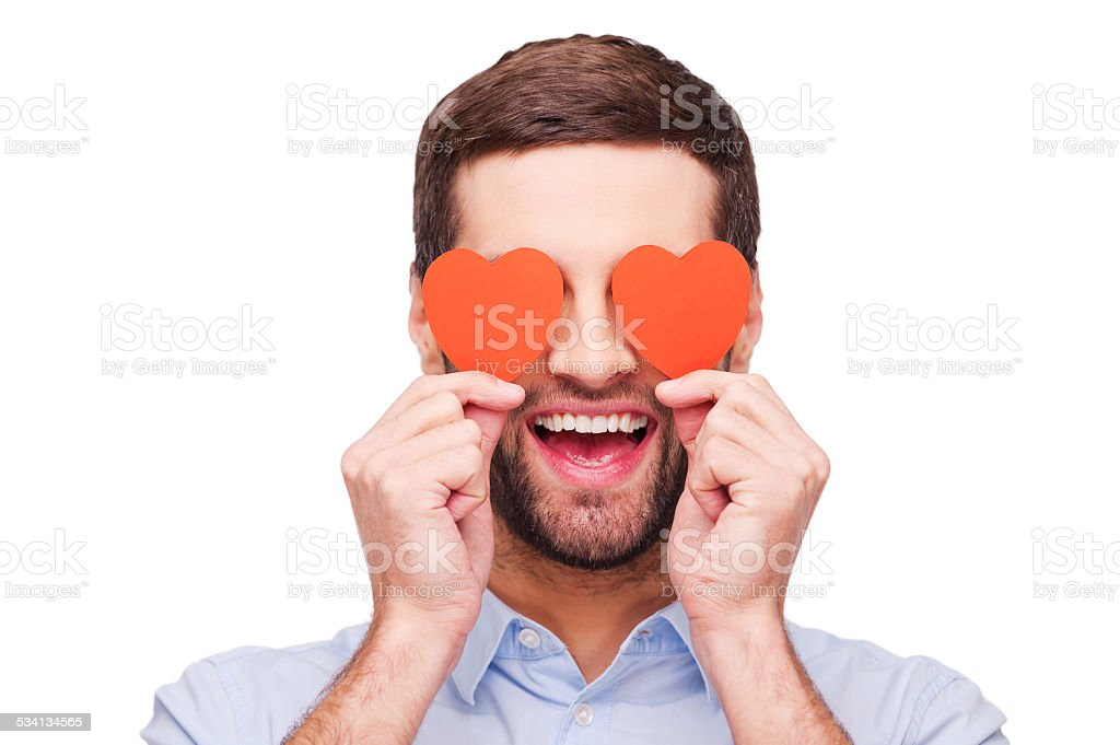 This is love! stock photo