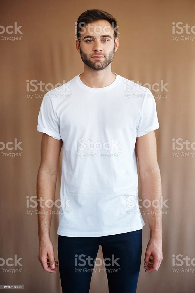 This is my casual look stock photo