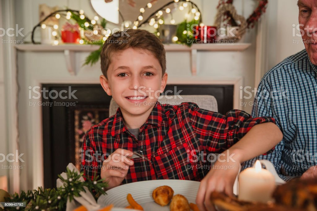 This Is My Favourite Part Of Christmas stock photo