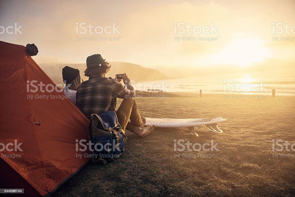 This is my kinda date! stock photo