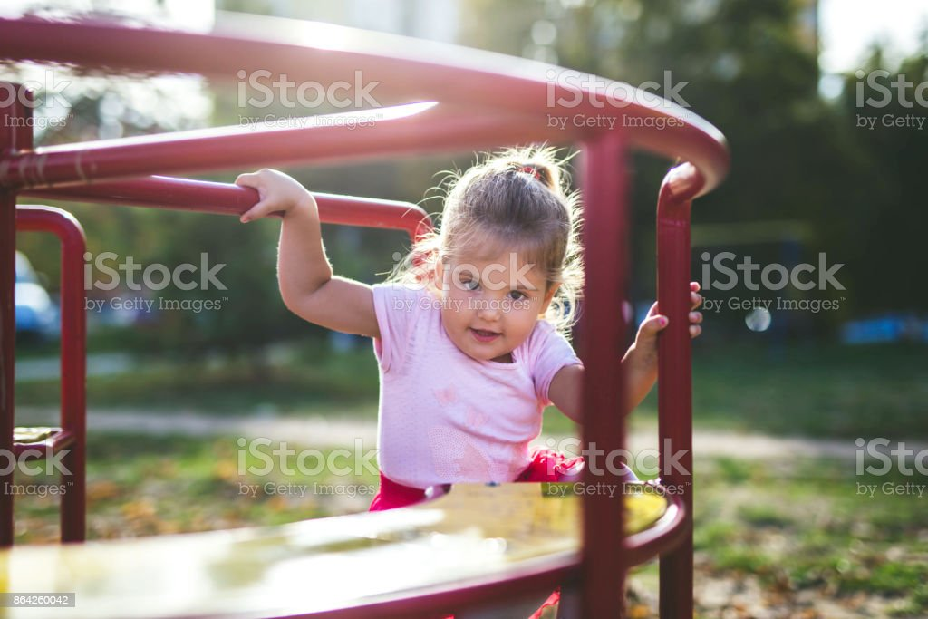 This is my roundabout royalty-free stock photo