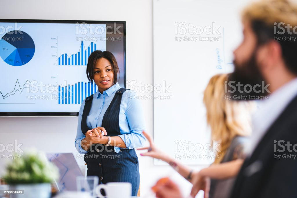This is our best sales in history stock photo