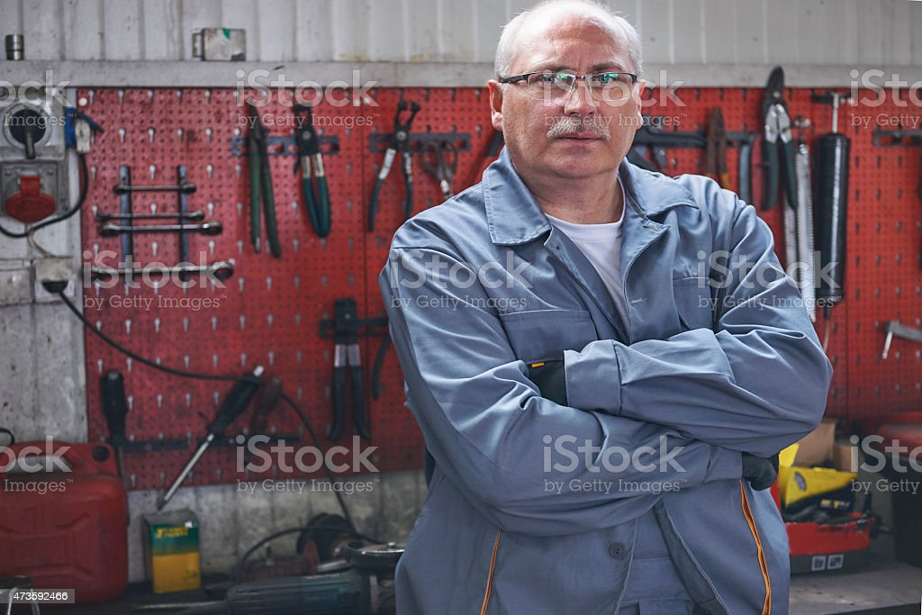 This is place of my work stock photo