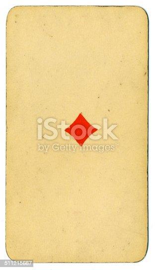 Ace de diamantes carta Tarot Tarock austríaco 1900