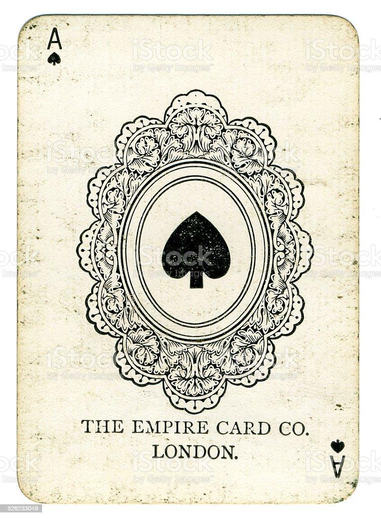Ás o Empire empresa de cartão de Londres - foto de acervo