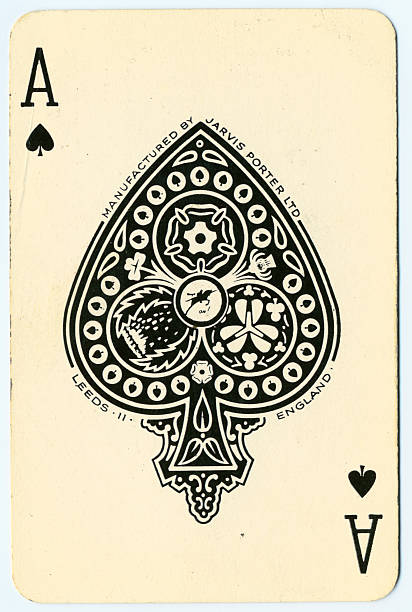 As de pique vieux jeu de carte Jarvis Porter Ltd - Photo
