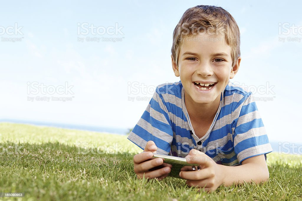 This is the best game ever! royalty-free stock photo