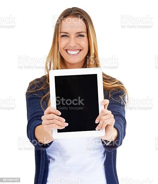Dies ist der beste website! - Lizenzfrei 25-29 Jahre Stock-Foto