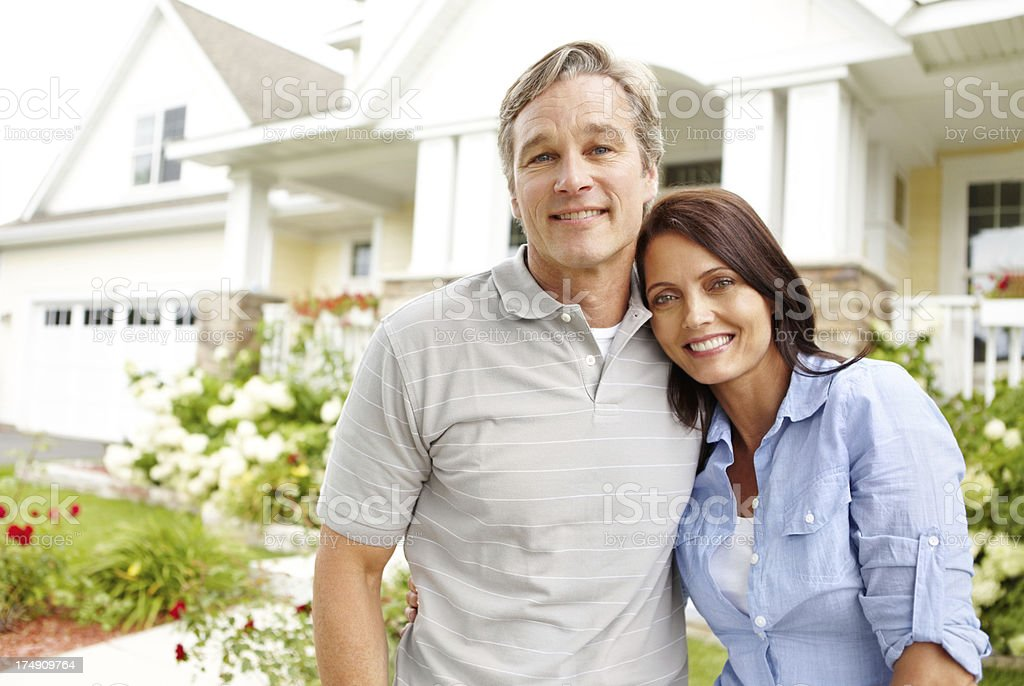 This is the home our love built royalty-free stock photo