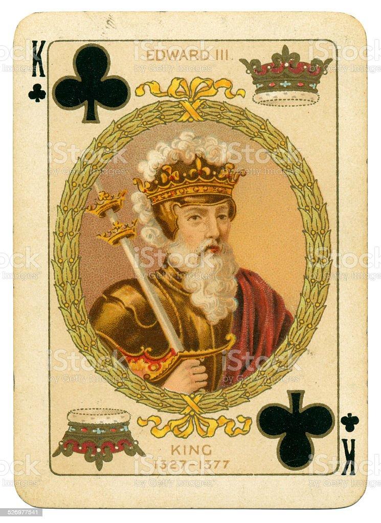 King Edward III King de paus - foto de acervo
