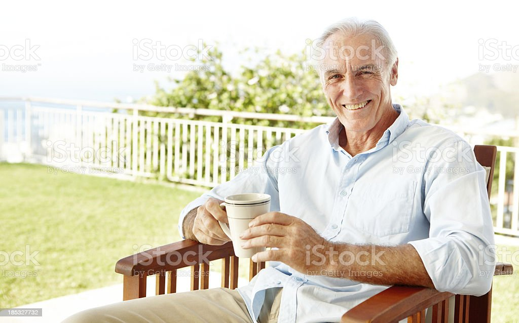 This is the life royalty-free stock photo