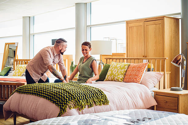 this is the one! - furniture shopping stock photos and pictures