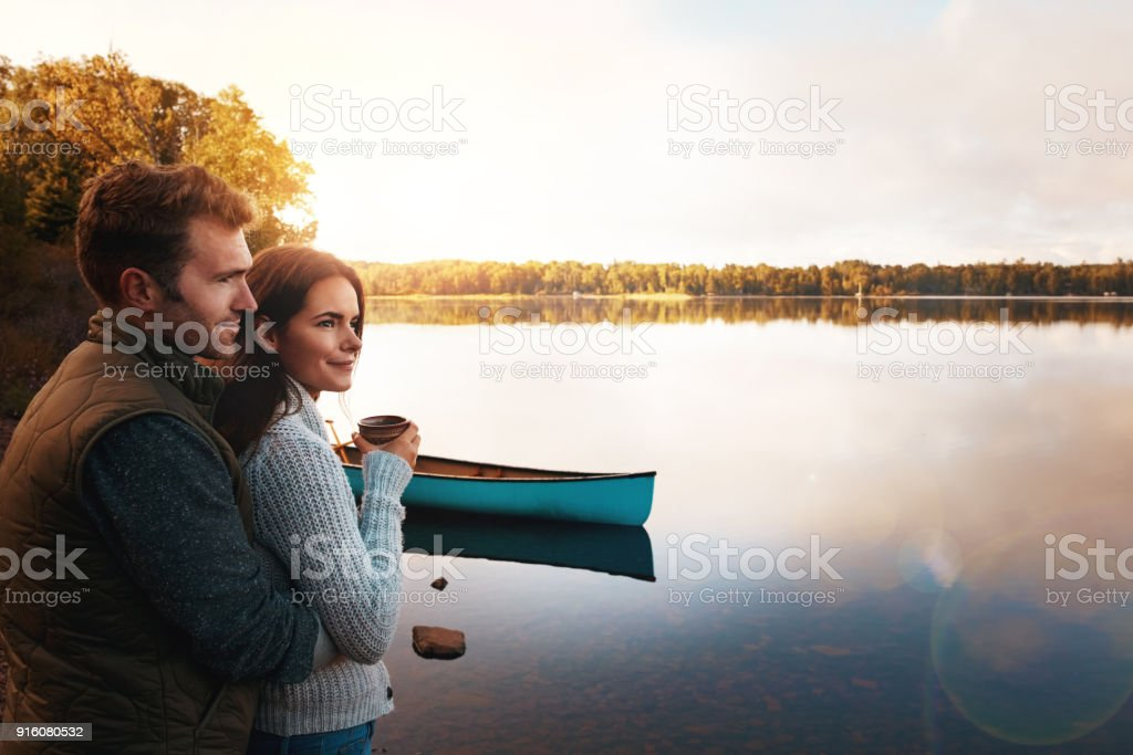 This is the perfect place for newly weds stock photo