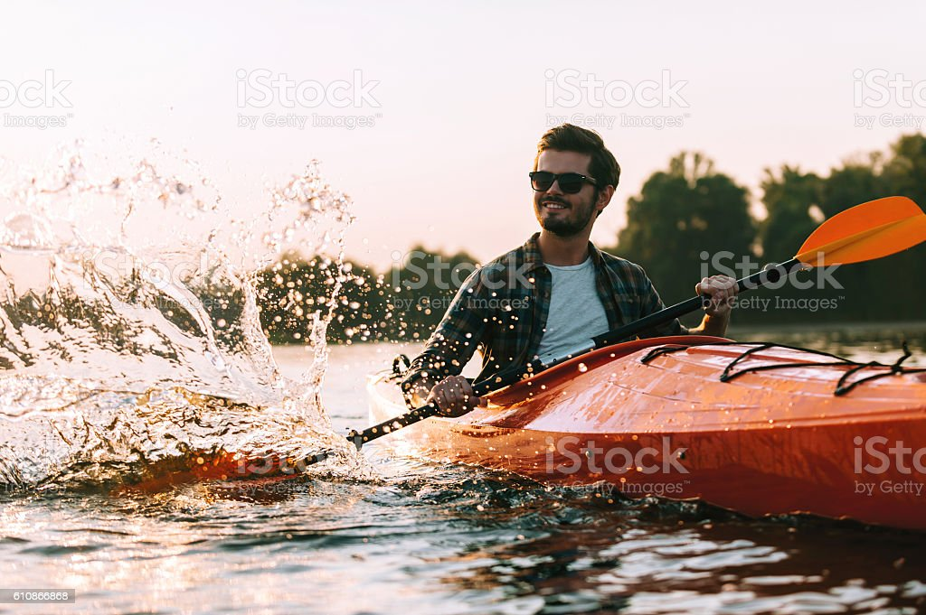 This is the real life! stock photo