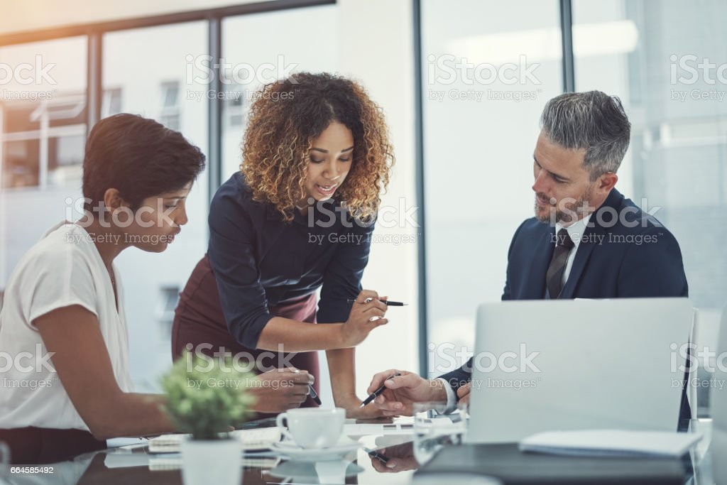 This is the topics I want to discus in this meeting royalty-free stock photo