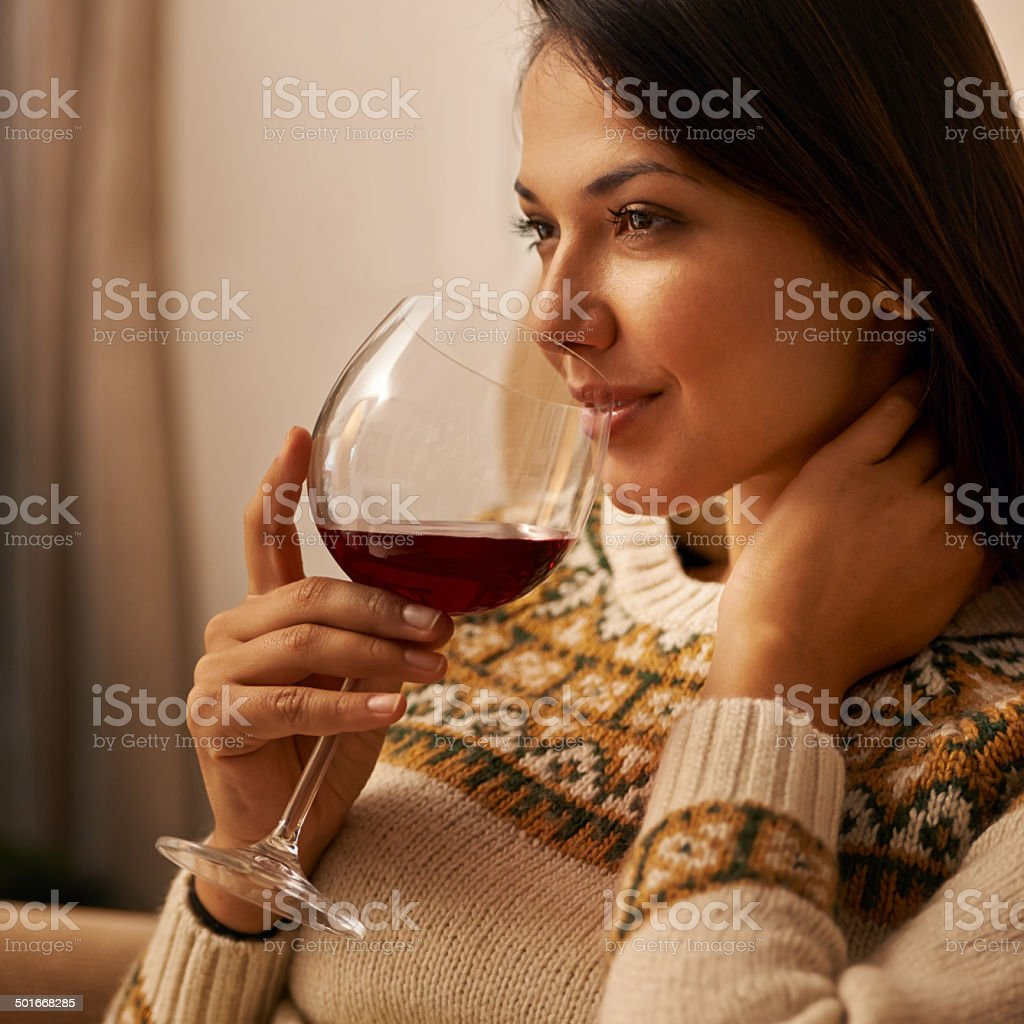 This is the way to end a long day stock photo