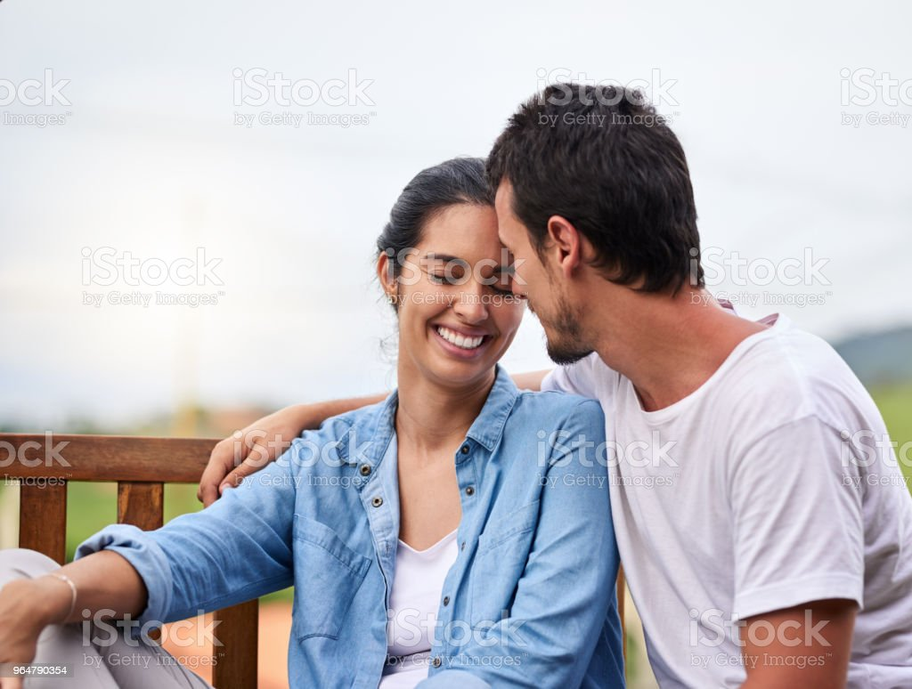 This is what happiness looks like royalty-free stock photo