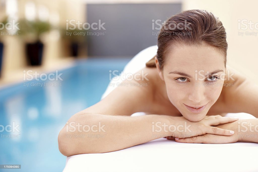 This is what I call relaxation stock photo