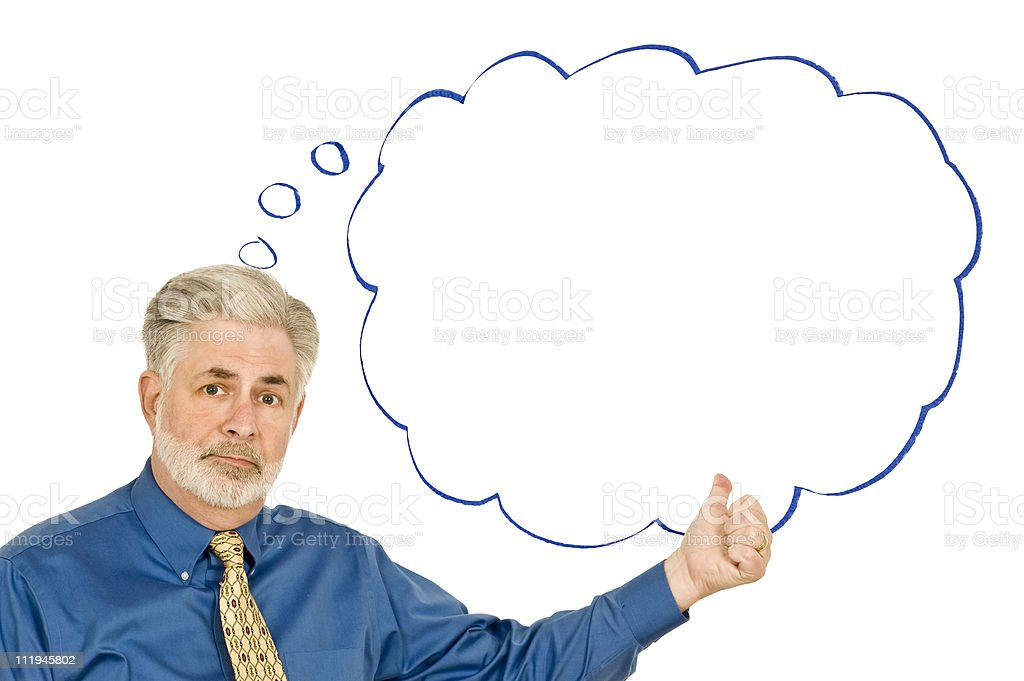 This Is What I Think! royalty-free stock photo
